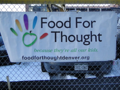 Food For Thought Banner
