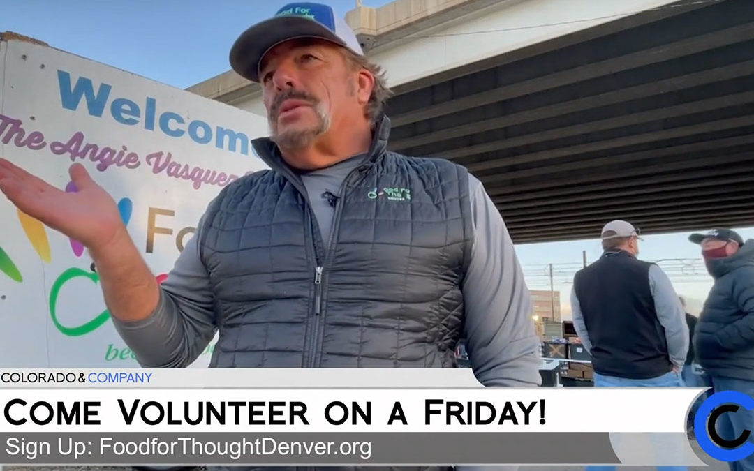 Food For Thought Denver Featured on Colorado and Company on 9News